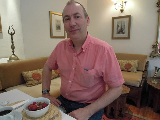 Sarı Konak: In the breakfast room