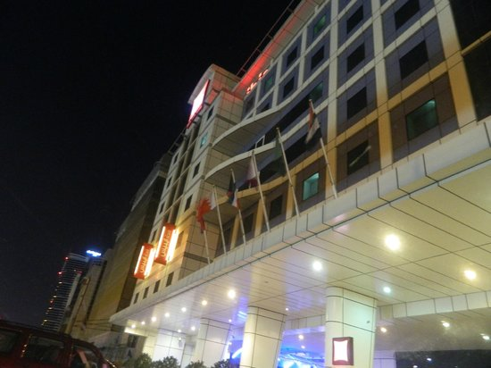 Ibis Al Barsha: Another night view