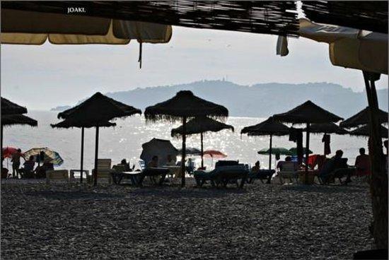 Hostal Altamar: chiringuito-playa