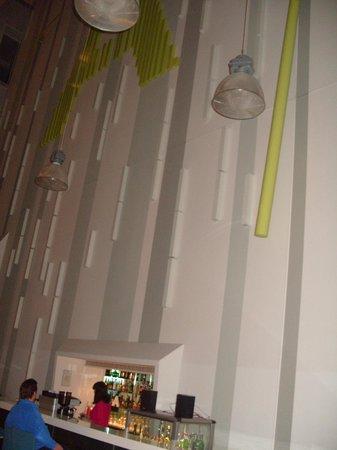 Atrium Fashion Hotel: Part of the giant Pendulum Clock
