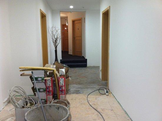 Best Western Plus Aalener Roemerhotel: Blick auf mein Zimmertür
