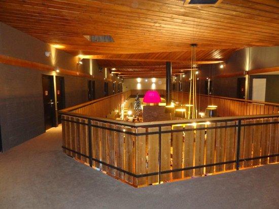 Marmotel : vue etage