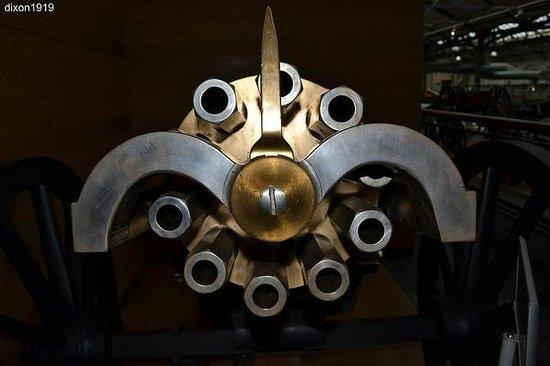 Firepower The Royal Artillery Museum : Gatling