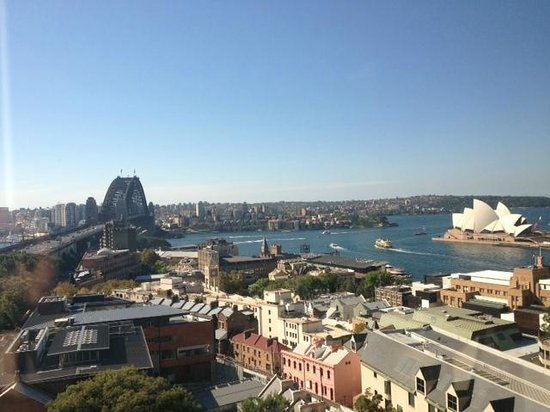 Shangri-La Hotel Sydney: The view from my room