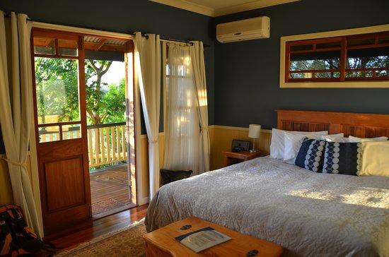 Eumundi Gridley Homestead B&B: Schlafzimmer