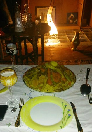 Foutour & Sarir Riad: cuisine de mam