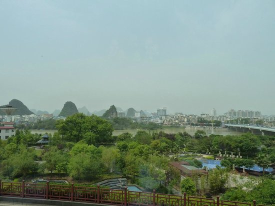 Shangri-La Hotel Guilin: River view