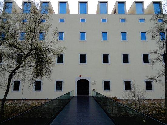 HD - Duecitania Design Hotel: Frente do Hotel