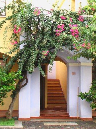 Hotel la Torre : Im Innenhof