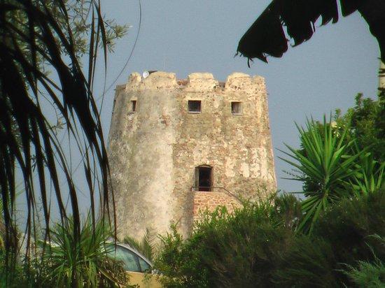 Hotel la Torre : Sicht von der Terrasse