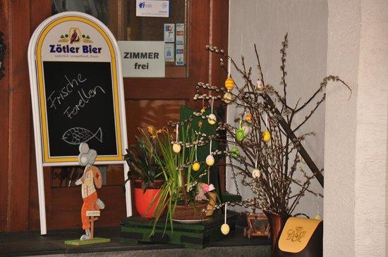 Hotel Waldmann: Easter decoration (march 2013)
