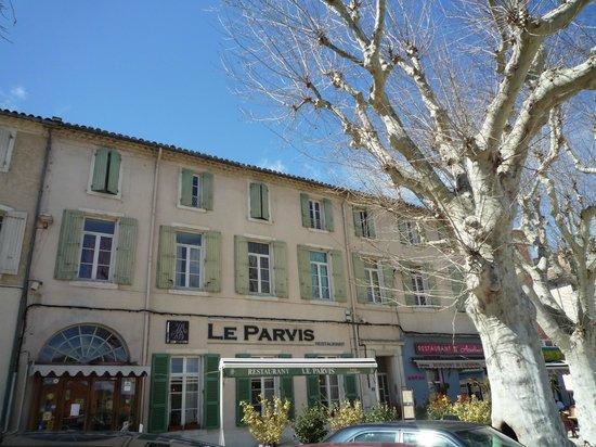 Restaurant Le Parvis : La facade