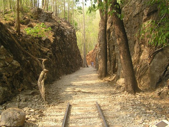 Parts Of The Old Railway - Picture of Hellfire Pass ...