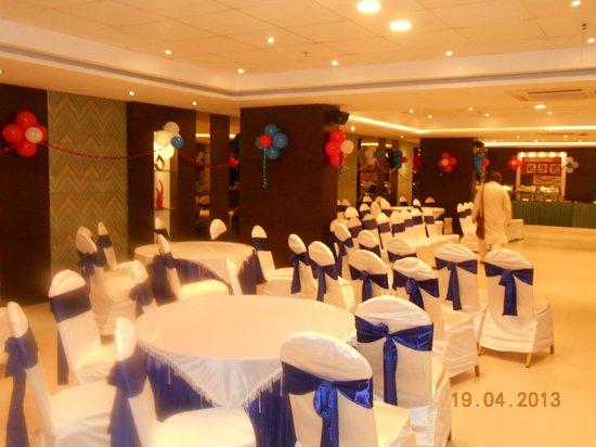 Octave Hotel & Spa, Sarjapur Road: Hall decoration