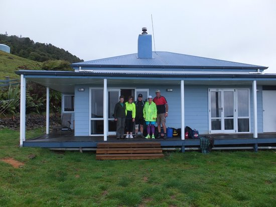 Nightingale Falls Farmstay Retreat: At Nightingale Falls Retreat.  All ready for the Hauraki Cycle Rail Trail