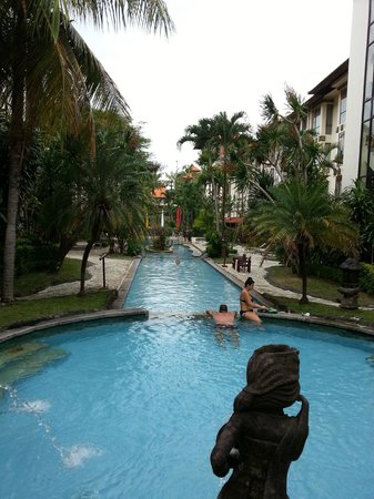 Sanur Paradise Plaza Hotel: Very long pool