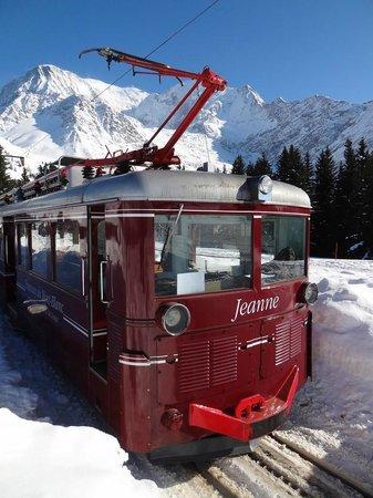 Tramway du Mont-Blanc: L'autre motrice