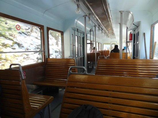 Tramway du Mont-Blanc: Notre voiture