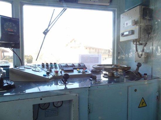 Tramway du Mont-Blanc: La cabine de pilotage