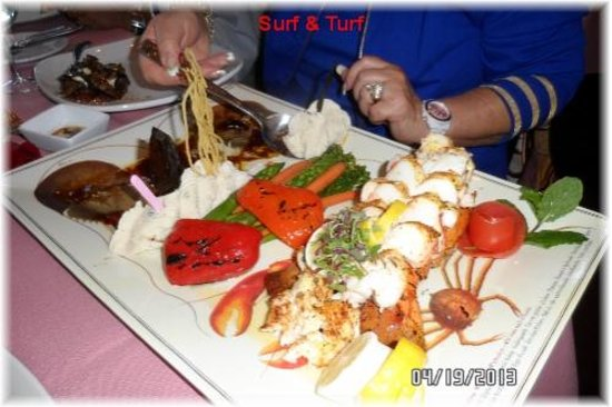 Hank's RiverWalk Bar & Grill: Surf & turf