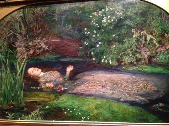 National Gallery of Art: オフぇーリア
