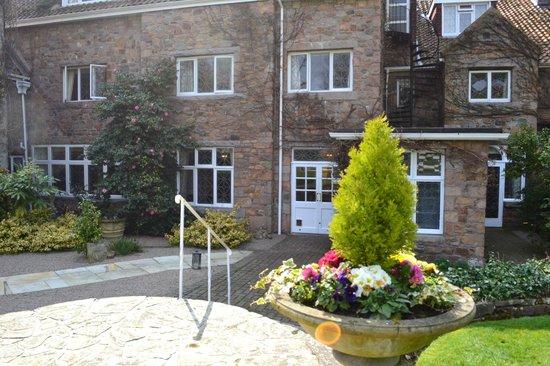 Longueville Manor : rear of hotel