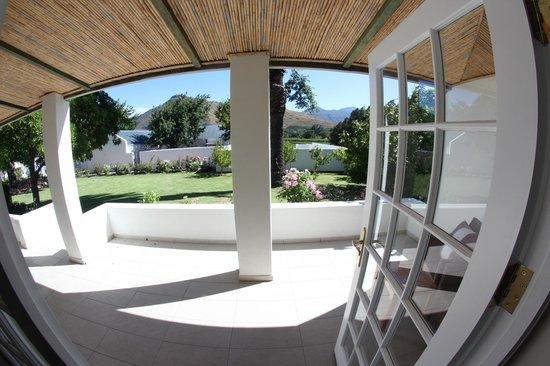 Fransvliet Guest House : Terrasse