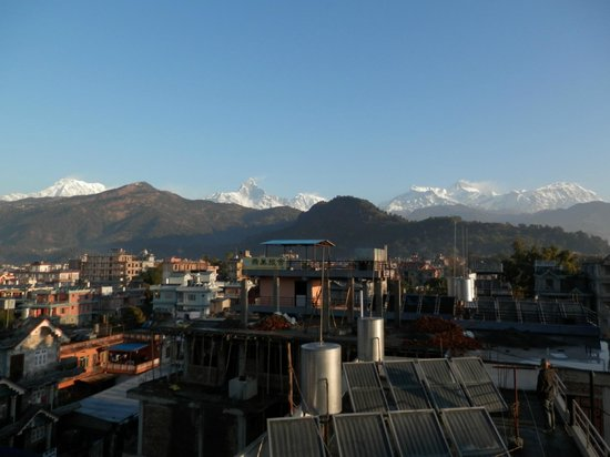 Hotel Lotus Inn: View from the roof