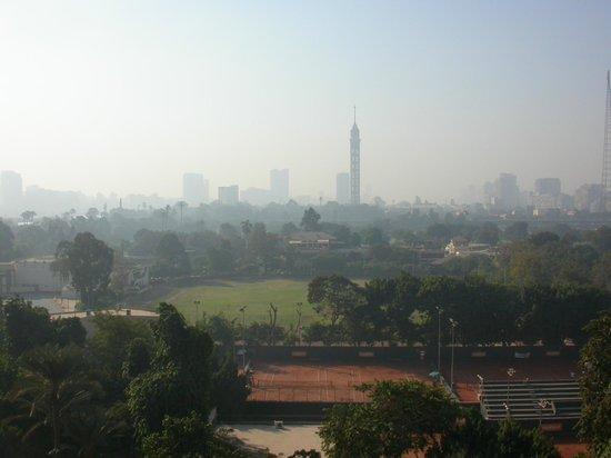 Cairo Marriott Hotel & Omar Khayyam Casino: view from the room facing gezira sporting club