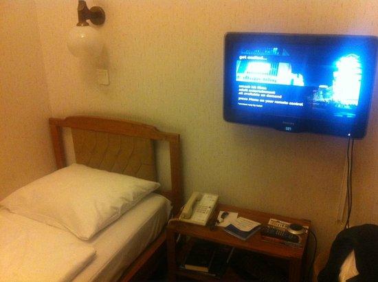 Danubius Hotel Gellert: Crappy room setup