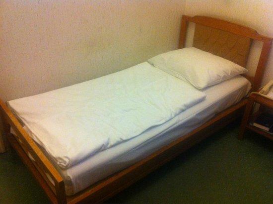 Danubius Hotel Gellert: Uncomfortable, old bed