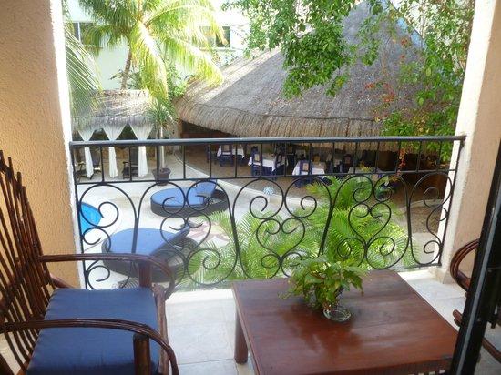 BRIC Hotel & Spa: balcony roo 21