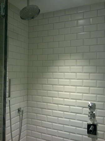 Hotel Maria Cristina, a Luxury Collection Hotel, San Sebastian: Room 206 - Shower/Bath