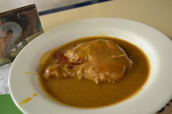 Colbar: Curry chicken