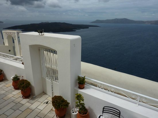 Archontiko Santorini: Balcony