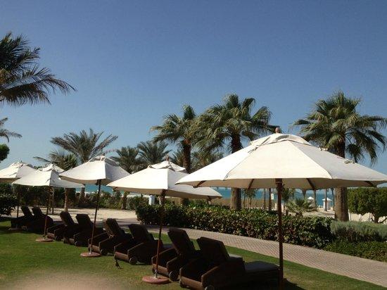 The Ritz-Carlton, Dubai : Poolhäng