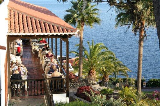 Terrasse Restaurant Photo De Hotel Jardin Tecina Playa De