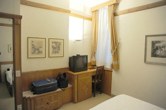Park Hotel Ca Noa: La camera confortevole e pulita