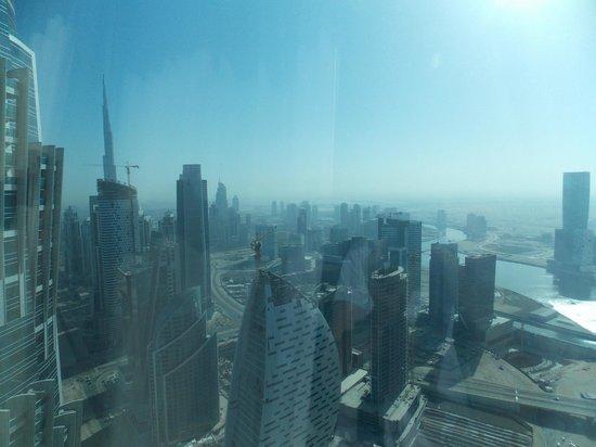 JW Marriott Marquis Hotel Dubai: Вид из номера