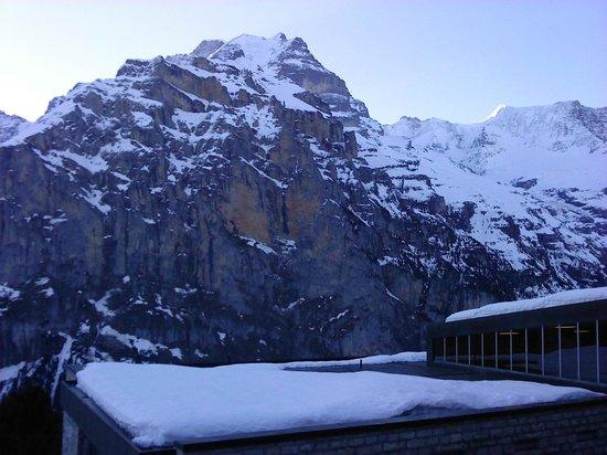 Eiger Guesthouse: vue 3/4 depuis la chambre