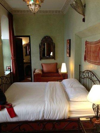 Riad Aguerzame: Our bedroom