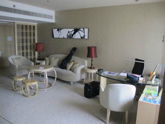 โรงแรมเดอะการ์เด้น: A view of the sitting area