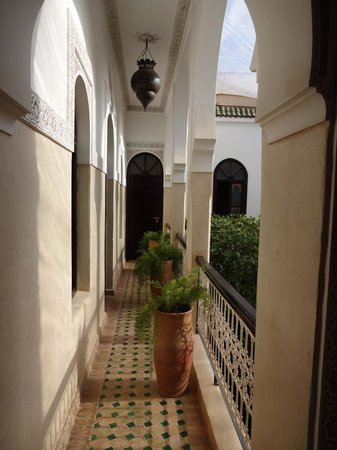 Riad Aguerzame: On the first floor of the Riad