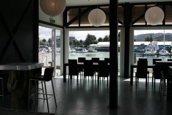 Gisborne Wine Centre: inside seating