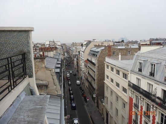 Hôtel Victor Hugo Paris Kleber : View from balcony