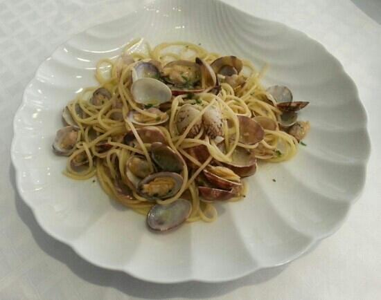 Ristorante Arilica: spaghetti alle vongole