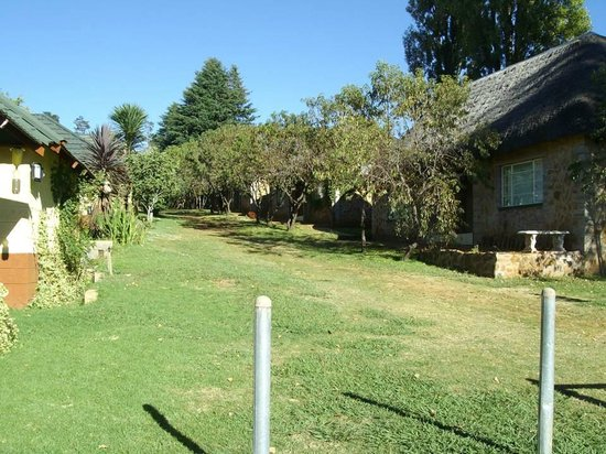 Aloes Guesthouse: Grounds