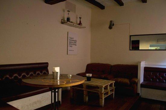 salottino di Agua(con lampada Moka)