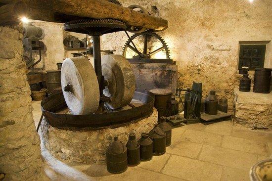 Les Vieux Moulins : Salle du moulin XIXe siècle