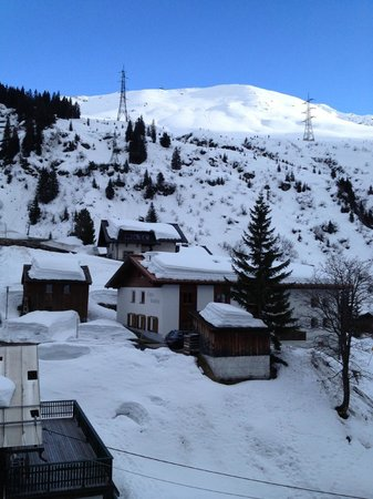 Hotel Mondschein: Photo of Albona from the room!